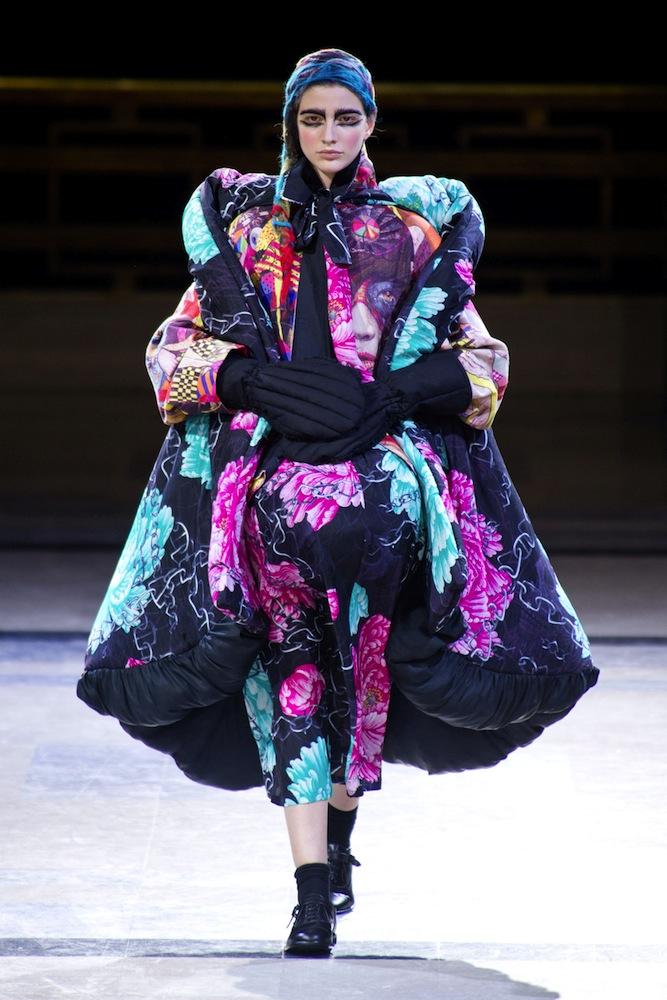 Yohji Yamamoto Fall 2014