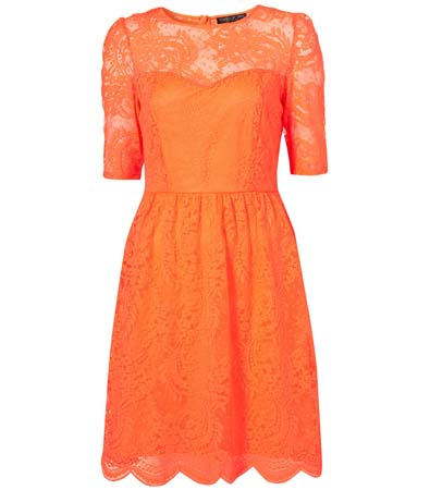 The Romantic Neon Frock