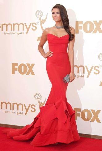 Nina Dobrev 63rd Primetime Emmy Awards Los Angeles Sept 2011 cropped
