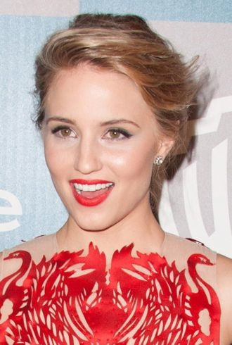 Dianna Agron 13th Annual Warner Bros and InStyle After Party Los Angeles cropped
