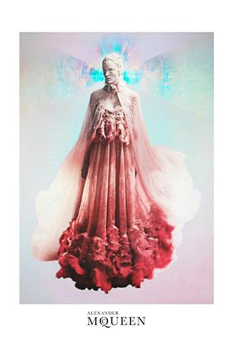 Alexander McQueen Spring 2012 ads - Zuzanna Bijoch photographed by David Sims
