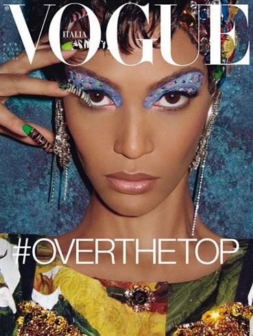 Vogue Italia March 2012 - Joan Smalls by Steven Meisel