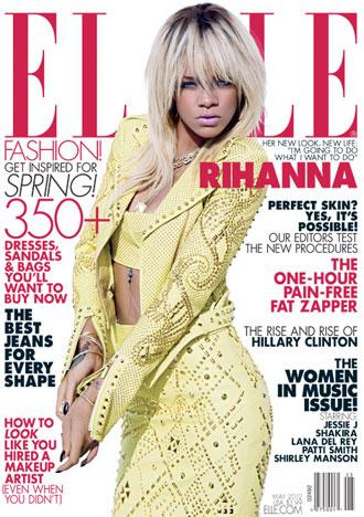 Rihanna Elle