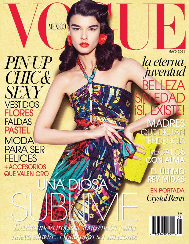 Crystal Renn - Vogue Mexico May 2012