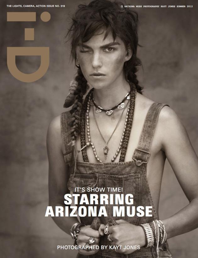 i-D Summer 2012 cover - Arizona Muse by Kayt Jones