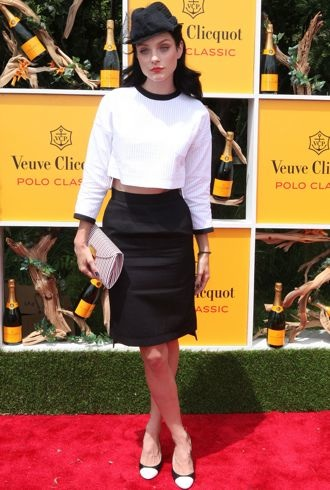 Jessica Stam Fifth Annual Veuve Clicquot Polo Classic Jersey City June 2012 cropped