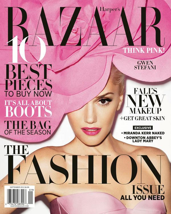 Harper's Bazaar September 2012 - Gwen Stefani by Terry Richardson