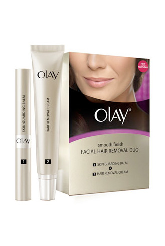We Tried It Olay Smooth Finish Facial Hair Removal Duo