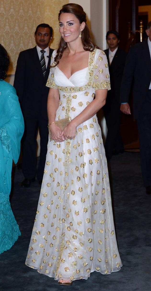 Kate Middleton wears Alexander McQueen