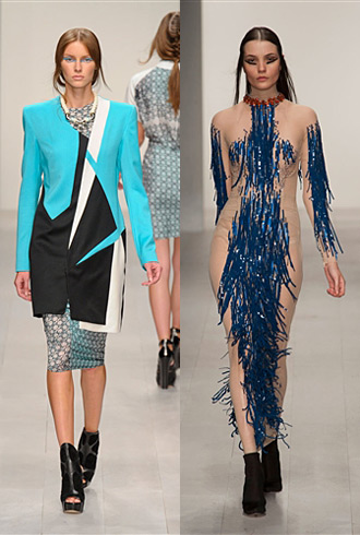 London Fashion Week Spring 2013 Hits and Misses - Jean-Pierre Braganza and Marios Schwab