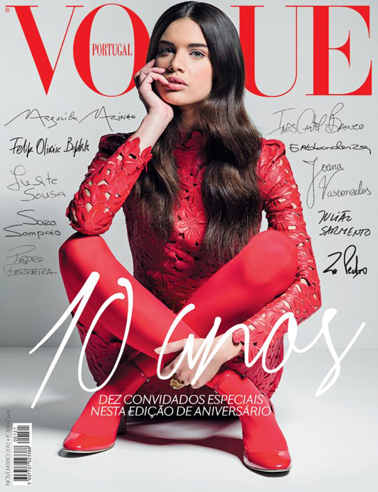 Vogue Portugal 10th Anniversary - Sara Sampaio
