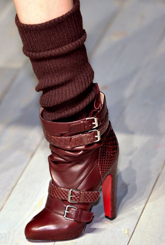 Socks with shoes, Victoria Beckham, Fall 2012