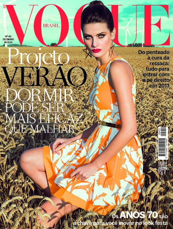 Vogue Brazil December 2012 - Isabeli Fontana photographed by Jacques Dequeker