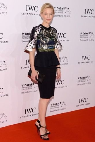 Cate Blanchett IWC Schaffhausen Filmmaker Award Gala dinner Dubai International Film Festival cropped