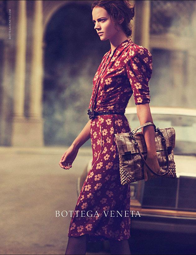 Bottega Veneta Spring 2013 ad campaign - Freja Beha Erichsen photographed by Peter Lindbergh