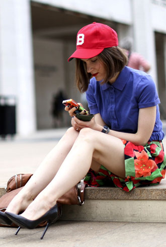 Women's menswear trend