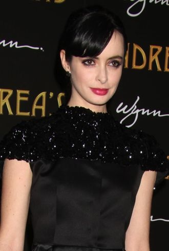 Krysten Ritter Andrea Restaurant grand opening at the Wynn Las Vegas Encore Resort cropped