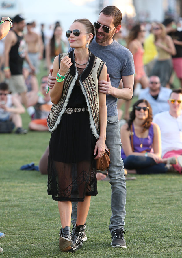 Kate Bosworth in TopShop at Coachella - Day 2