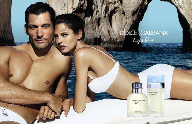 Dolce & Gabbana Light Blue - David Gandy & Bianca Balti