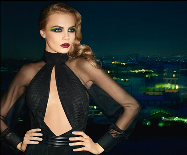 Cara Delevingne for YSL Makeup