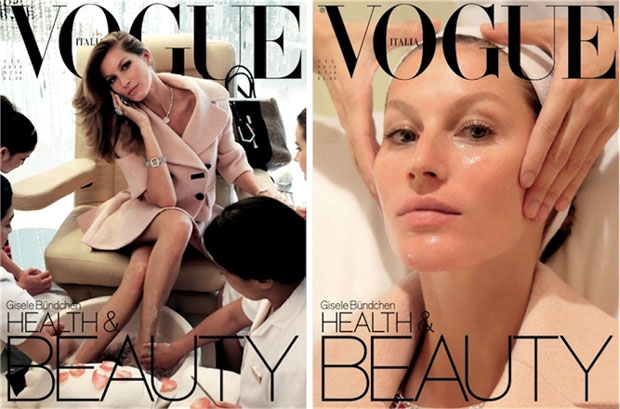 Gisele Bundchen by Steven Meisel for Vogue Italia