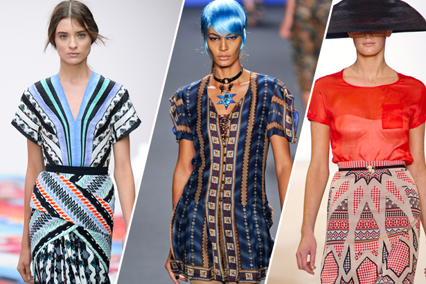 Peter Pilotto, Anna Sui, Temperley London Spring 2013 Runway, images: IMAXtree