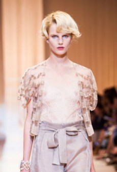 Armani Prive Haute Couture Fall 2013 Brings Glamour to the Catwalk