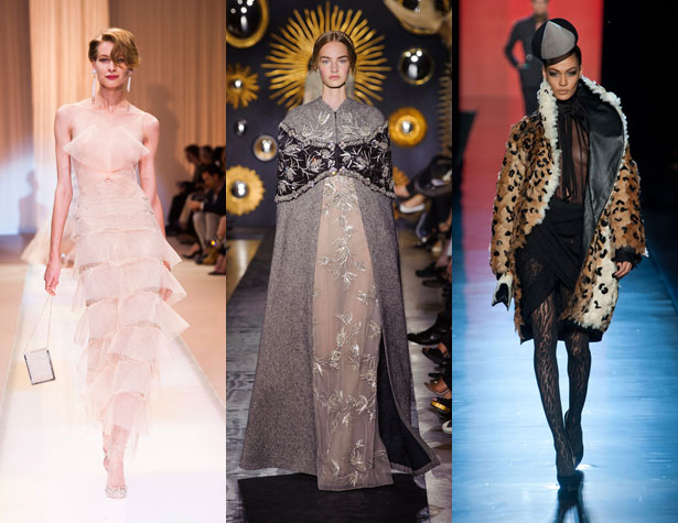 The Hits: Armani Prive, Valentino, Jean Paul Gaultier. Images: IMAXtree