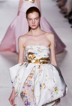 Giambattista Valli Haute Couture Impresses with Tasteful Drama