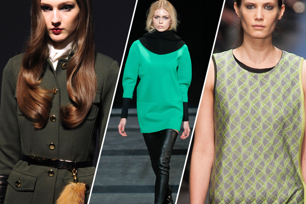 St. John, Tibi, Missoni Fall 2013 - images: IMAXtree