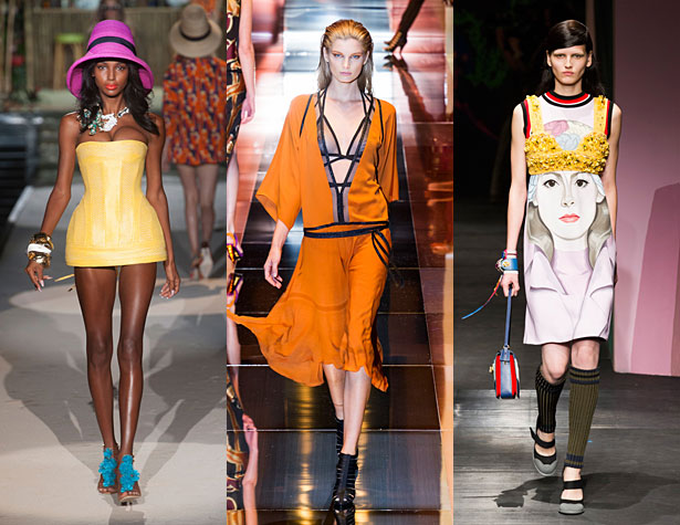The Misses: DSquared2, Gucci, Fendi. Images via IMAXtree