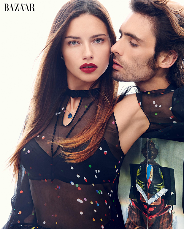 Adriana Lima and Tyson Ritter / Image: Max von Gumppenberg and Patrick Bienert