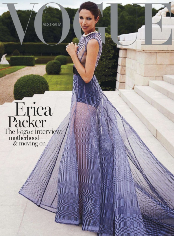 Erica Packer on Vogue Australia November 2013