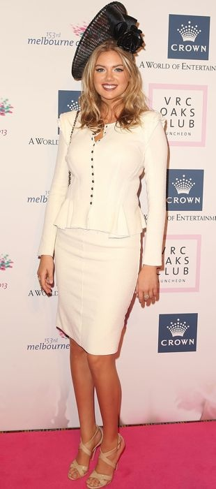 Kate-Upton-VRC-Oaks-Club-Luncheon-Melbourne-Nov-2013