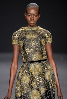 Fall Style Notes: Exotic Eveningwear