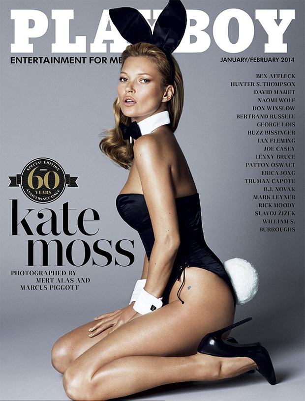 Kate Moss for Playboy by Mert & Marcus