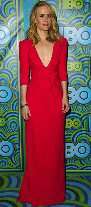 Sarah-Paulson-HBO-Post-Emmy-Awards-Reception-West-Hollywood-Sept-2013