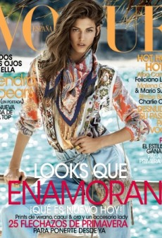 Kendra Spears Covers Vogue Spain's February Issue (Forum Buzz)