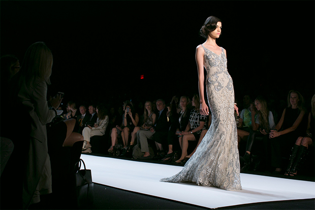 Badgley Mischka Spring 2014 / Image: IMAXtree