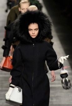 Fendi Mixes Sporty with Chic in Fur-Heavy Fall 2014 Collection (Runway Review)