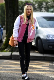 Milan Fashion Week Street Style: The Sun Wasn't the Only Thing Shining