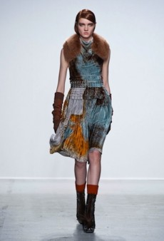 John Galliano Keeps It Natural and Luxe for Fall 2014 (Runway Review)