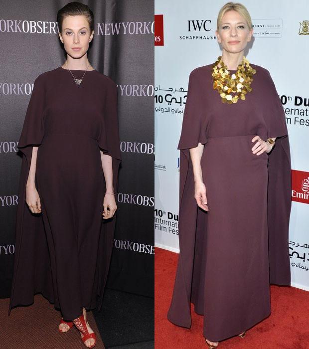 Elettra Wiedemann and Cate Blanchett in Valentino dress