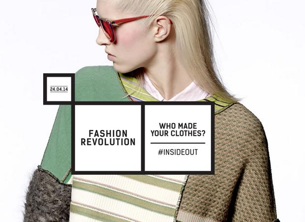 Model fashion revolution day ethical fashion