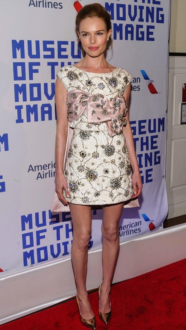 Kate Bosworth wears an embellished Giambattista Valli look