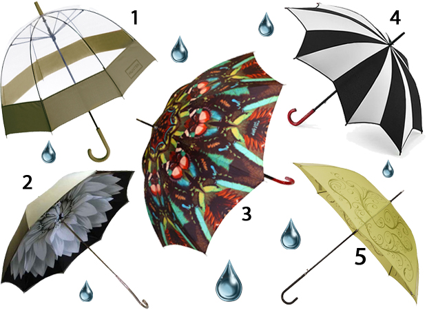 Five Stylish Umbrellas You Ll Be Carrying This Spring Thefashionspot