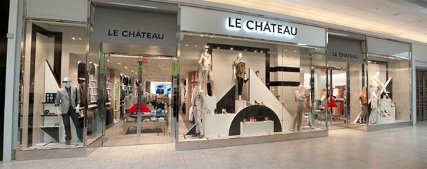 LE CHÂTEAU INC. - Le Château new concept
