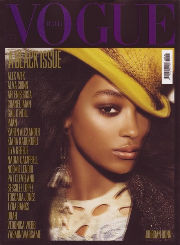 Vogue Italia July 2008 Jourdan Dunn
