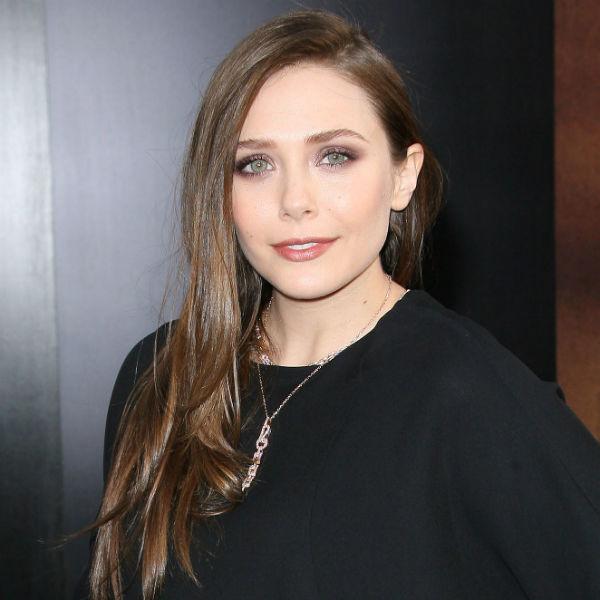 Get Elizabeth Olsen S Shimmery Neutral Purple Makeup Look