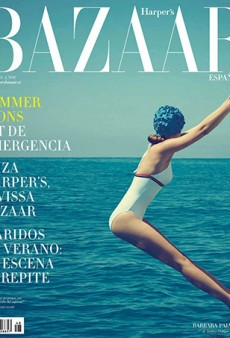 Barbara Palvin Looks Beautiful on Retro Chic Harper's Bazaar Spain Cover (Forum Buzz)